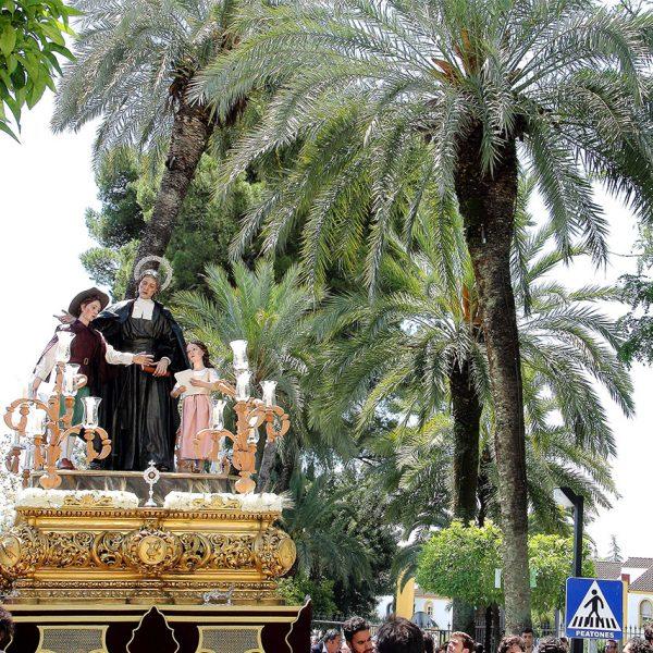 Procesión de San Juan Bautista de La Salle