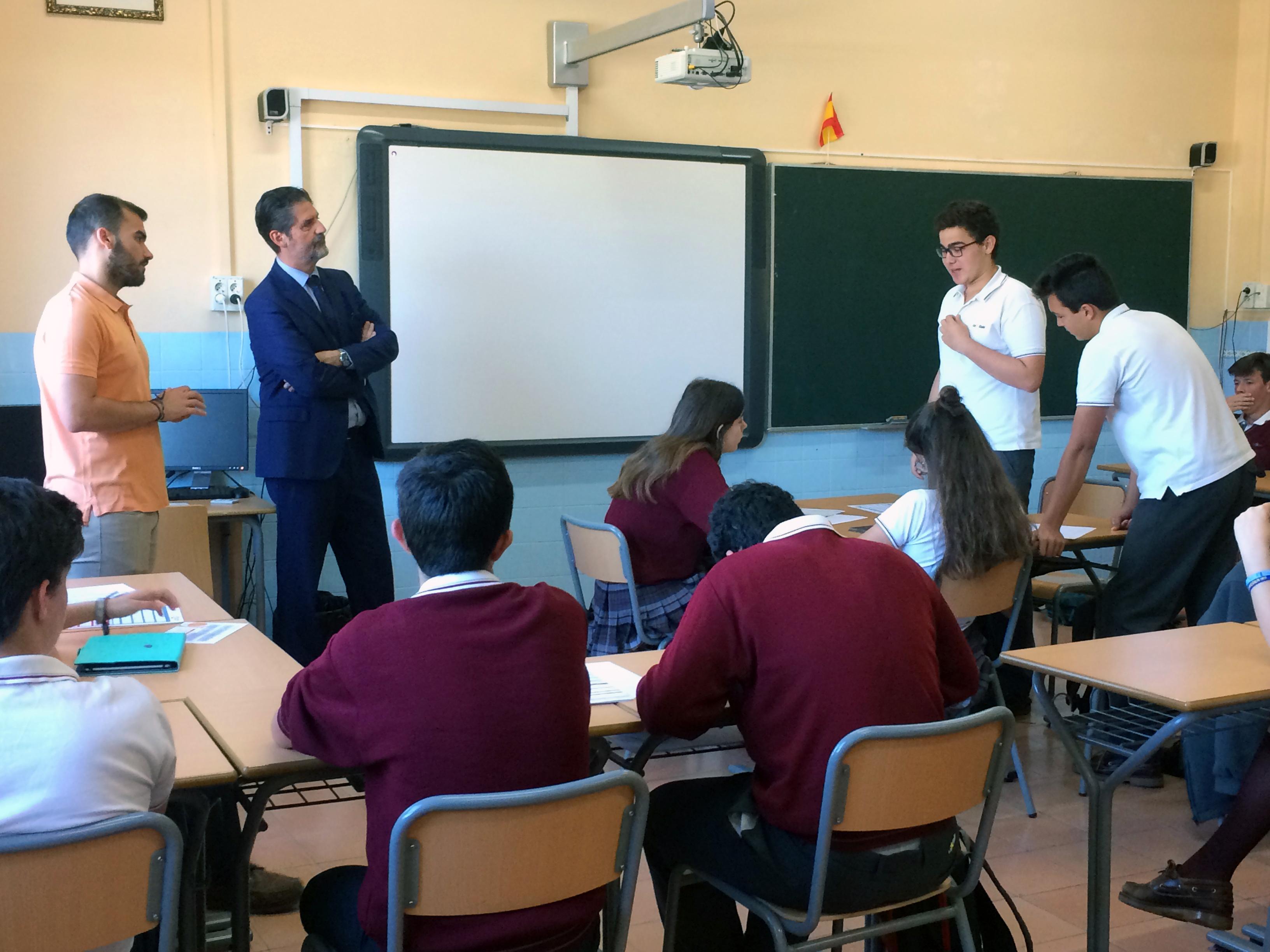 Alumnado de 4ºESO en Cultura del Emprendimiento
