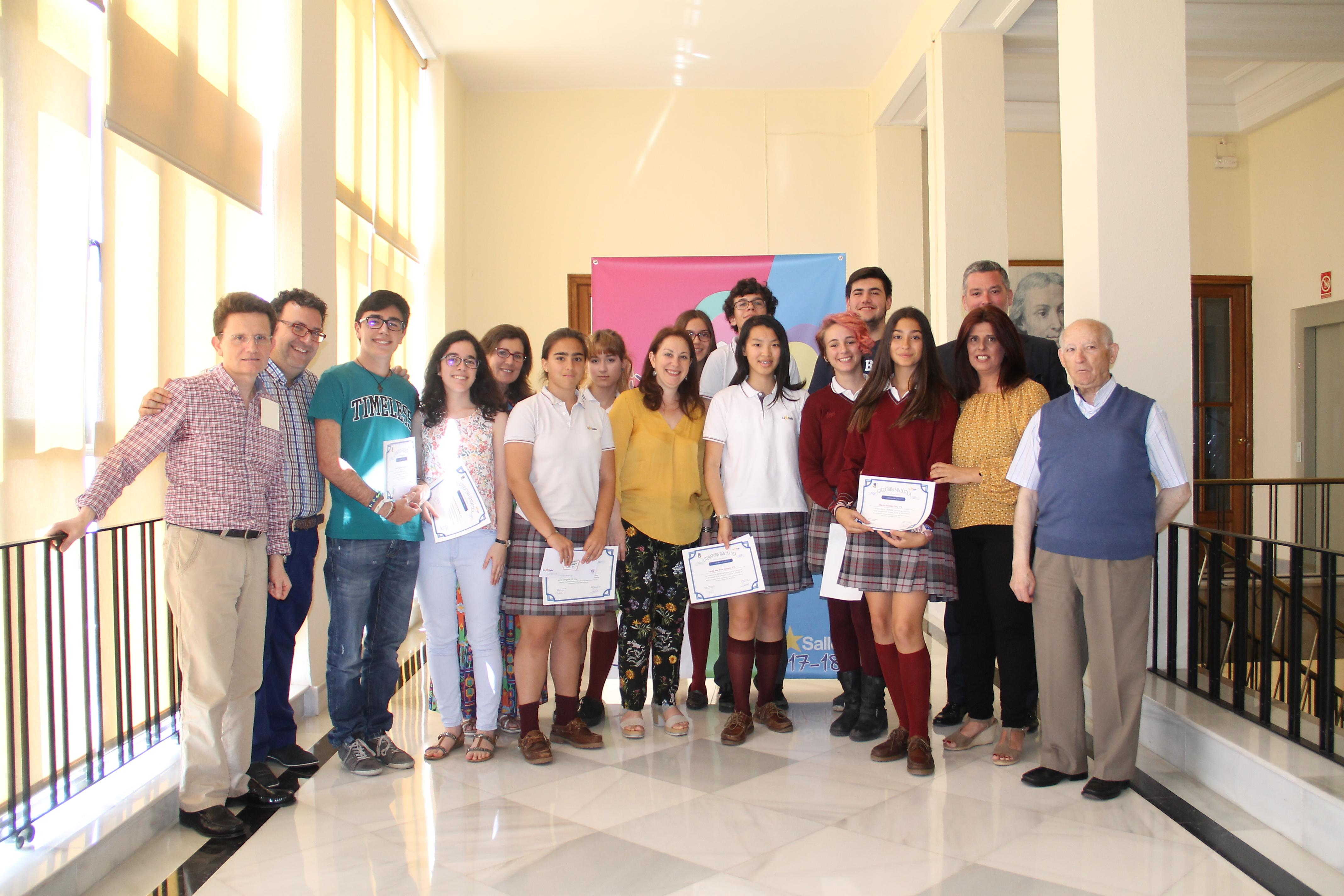 Alumnos premiados en el Concurso