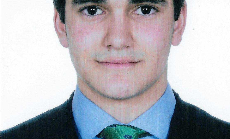 Foto del alumno, Javier Urrios Gómez